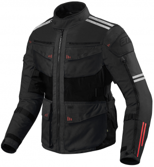 ATA Roadway Touring Black Motorcycle Textile Jacket