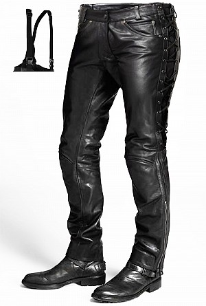 ATA LACE SPIRIT MOTORCYCLE LEATHER PANT DC-943