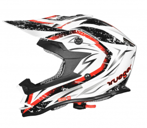 RK652 JUNIOR WHITE STORM cross helmet