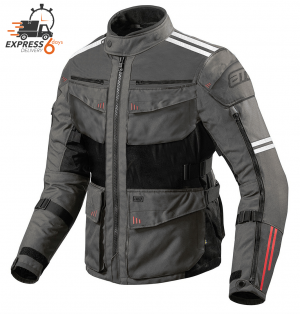 XPR ATA ROADWAY 365 TOURING GRAY ALLVÄDER MC JACKET 300004