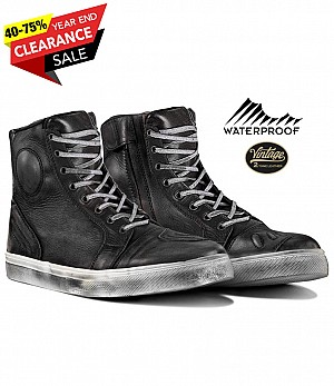VINTAGE WP RETRO DIRTYBLACK SNEAKERS MC BOOTS