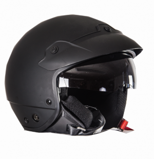 H740 Jet with sun visor mc helmet