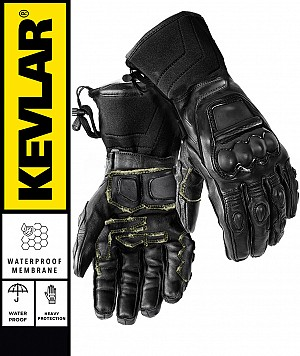 KEVLAR WATERPROOF BLACKOPS LONG KEVLAR PRO mc gloves