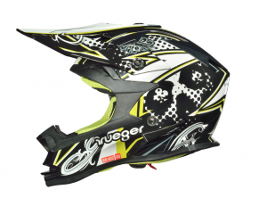 RK652 JUNIOR BLACK COOLPLAY cross helmet