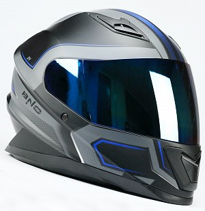 BNO INTEGRAL X4 BLUE MATT MC HELMET
