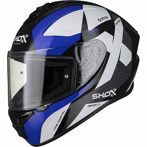 SHOX SNIPER EVO SHARPE BLUE 0303 MC HELMET