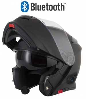 BLINC V5 BLUETOOTH MATT SCHWARZ STEREO MC HELM