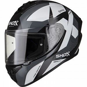 SHOX SNIPER EVO SHARPE BLACK 1303 MC HELMET