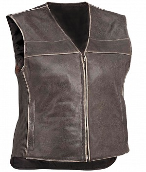 Vintage trousers leather vest
