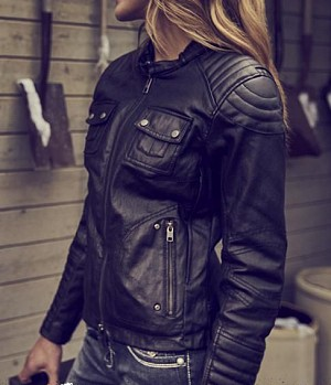 ATA Lady Femme Custom motorcycle jacket