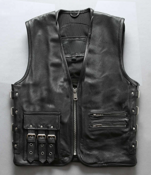 BOBBER PREMIUM HD Leather vest