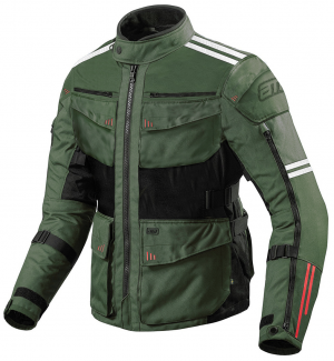ATA Roadway Touring ArmyGreen Motorcycle Textile Jacket