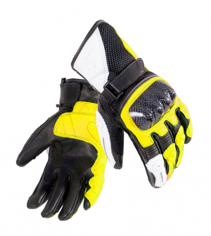 Agrius Ambush Short Leather HI-VIS 51072-2506 MC GLOVES
