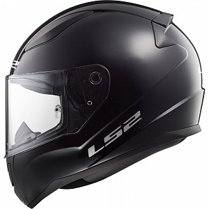 JUNIOR LS2 FF353J Rapid Mini Solid Youth BLACK 1204 Motorcycle
