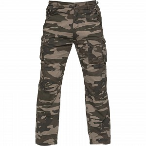 BLACK KEVLAR COMMAND CARGO KHAKI 2728 mc trousers