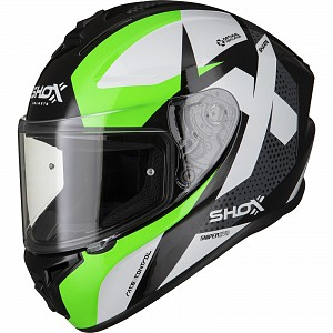SHOX SNIPER EVO SHARPE GREEN 0703 MC HELMET