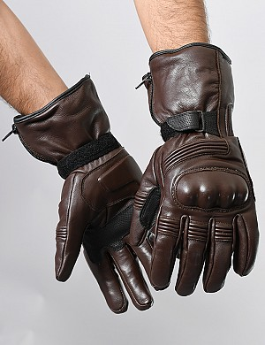 ATA RANGER TOUR DARKBROWN MC GLOVES