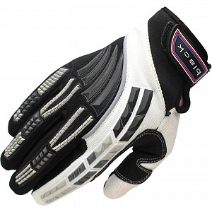 Black Claw Motocross Gloves WHITE 5234-1006 Motocross GLOVES