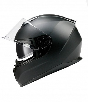 BNO INTEGRAL X3 BLACK MATT SUNVISOR MC HELMET