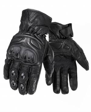 BLACK TRACK SHORT 5229 MC GLOVES