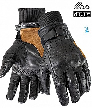 DUAL WEATHER VINTAGE RIDER WATERPROOF MC GLOVES