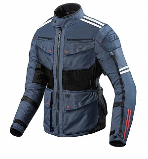 LADY ATA ROADWAY 365 TOURING NAVYBLUE ALL WEATHER MOTORCYCLE JACKET