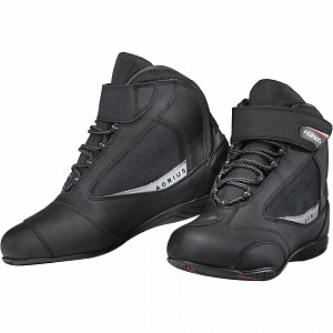 Agrius Stunt WP Ankle Motorcycle Black 0144 Touring MC boots