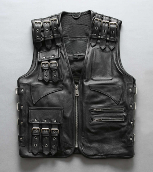 PREMIUM BIKER SUPREME HD Leather vest