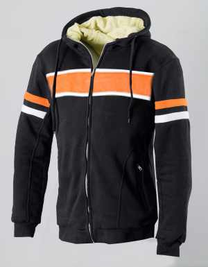 ATA KEVLAR ORGINAL RETRO HOODIE HD MOTORCYCLE SWEATER