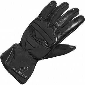 AGRIUS Slate Leather Motorcycle 510190106 MC HANDSKAR