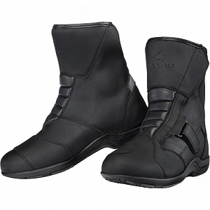 Agrius Taurus WP Mid Motorcycle 0144 Black Touring MC boots