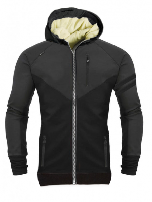 HOODIE KEVLAR RETRO BIKER LEVEL-2 CE PROTECTION
