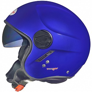 RF-693 DARK BLUE SOLVISIR JET MC HELMET