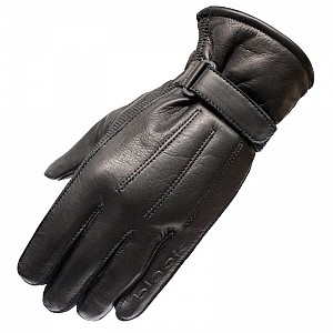 BLACK Vapour Leather Motorcycle 51050106 Gloves