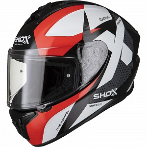 SHOX SNIPER EVO SHARPE RED 0203 MC HELMET