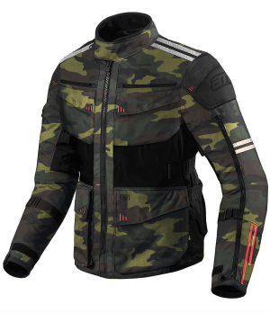 ATA ROADWAY 365 TOURING CAMO FORREST Textile Motorcycle Jacket  300002