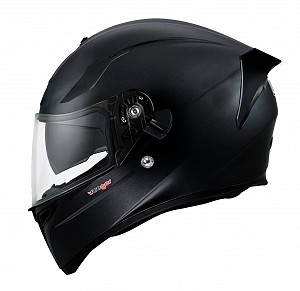 FEATHERLIGHT RT-826 BLACK MATT SOLVISIR INTEGRAL MC HELMET