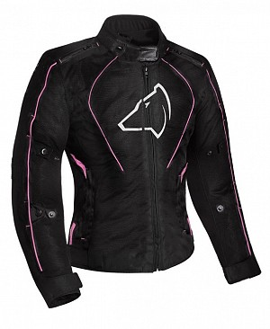 Lady Agrius Gemini Motorcycle BLACK/PINK 51033-0804 MC JACKA