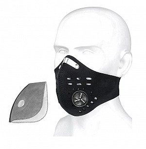 FACEMASK IRON VENT NEOPREN WASHABLE FACE MASK