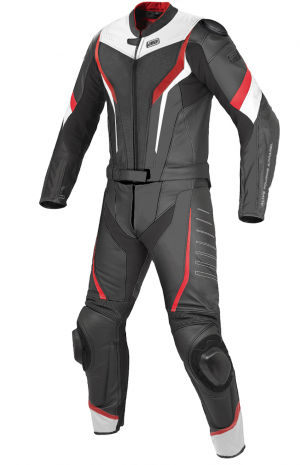 ATA Fortune Red leather suit